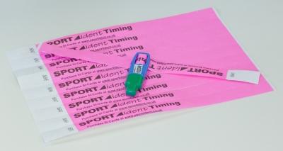 Disposable Tyvek Wristband - strip of 10